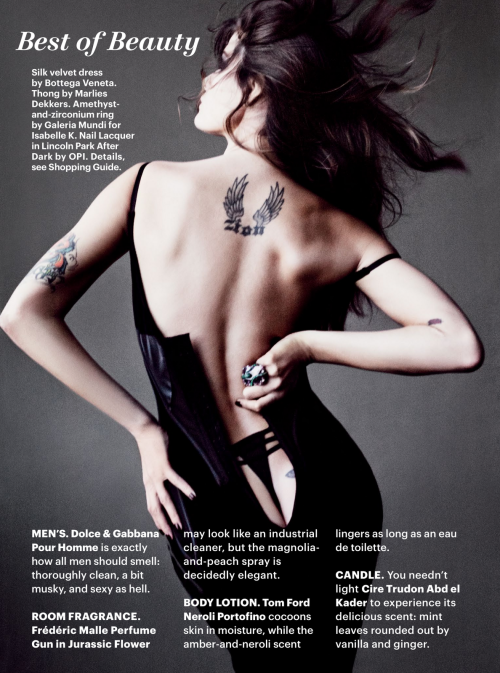 extrasexy: isabeli fontana by tom munro for allure october...