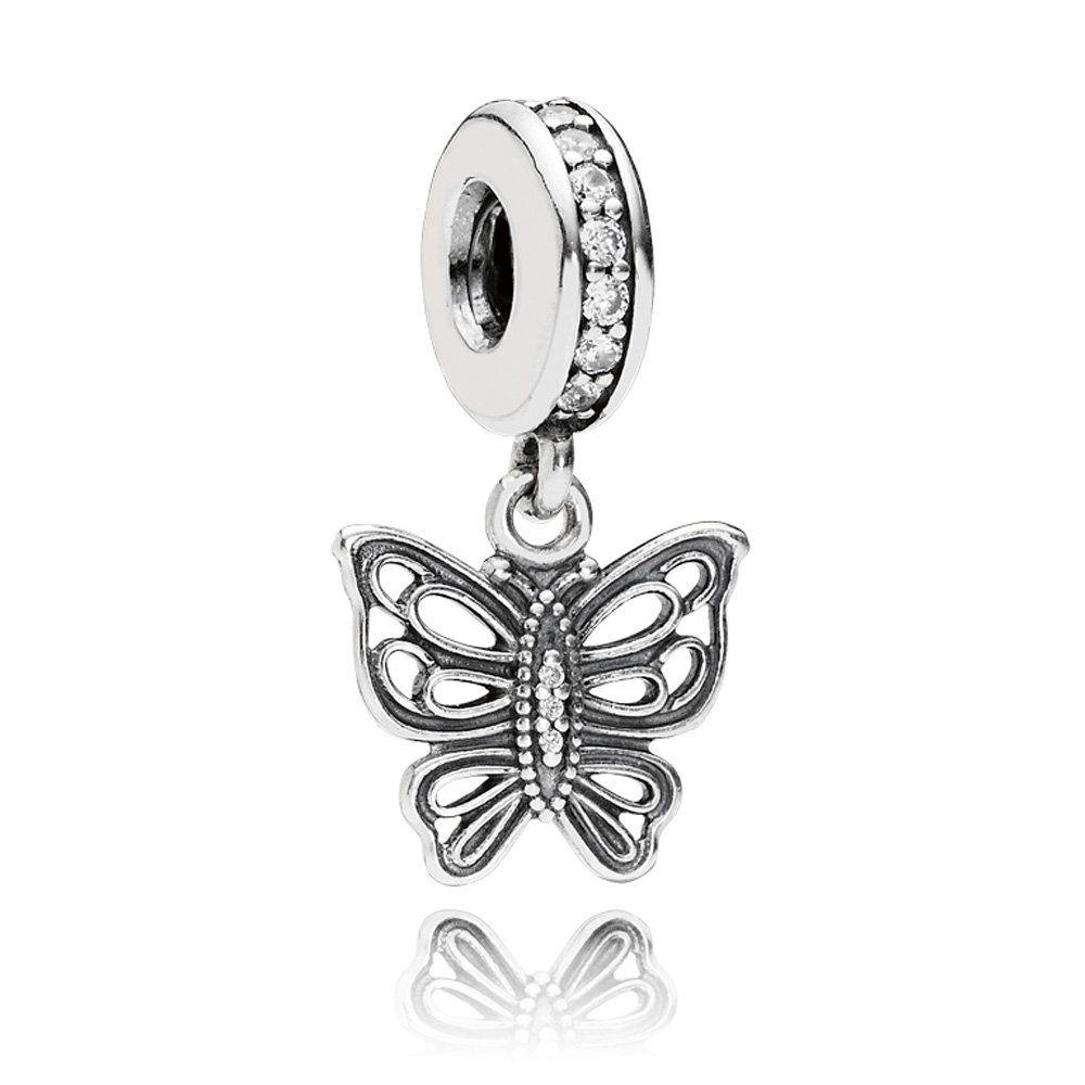 Pandora Spacer Charm Google Search Pandora Butterfly Charm Pandora Butterfly Pandora Jewelry