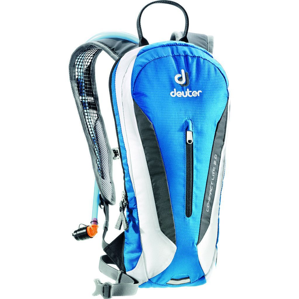 Deuter Compact Lite 2l Hydration Backpack Ocean White Hydration Pack Backpacks Golf Bags