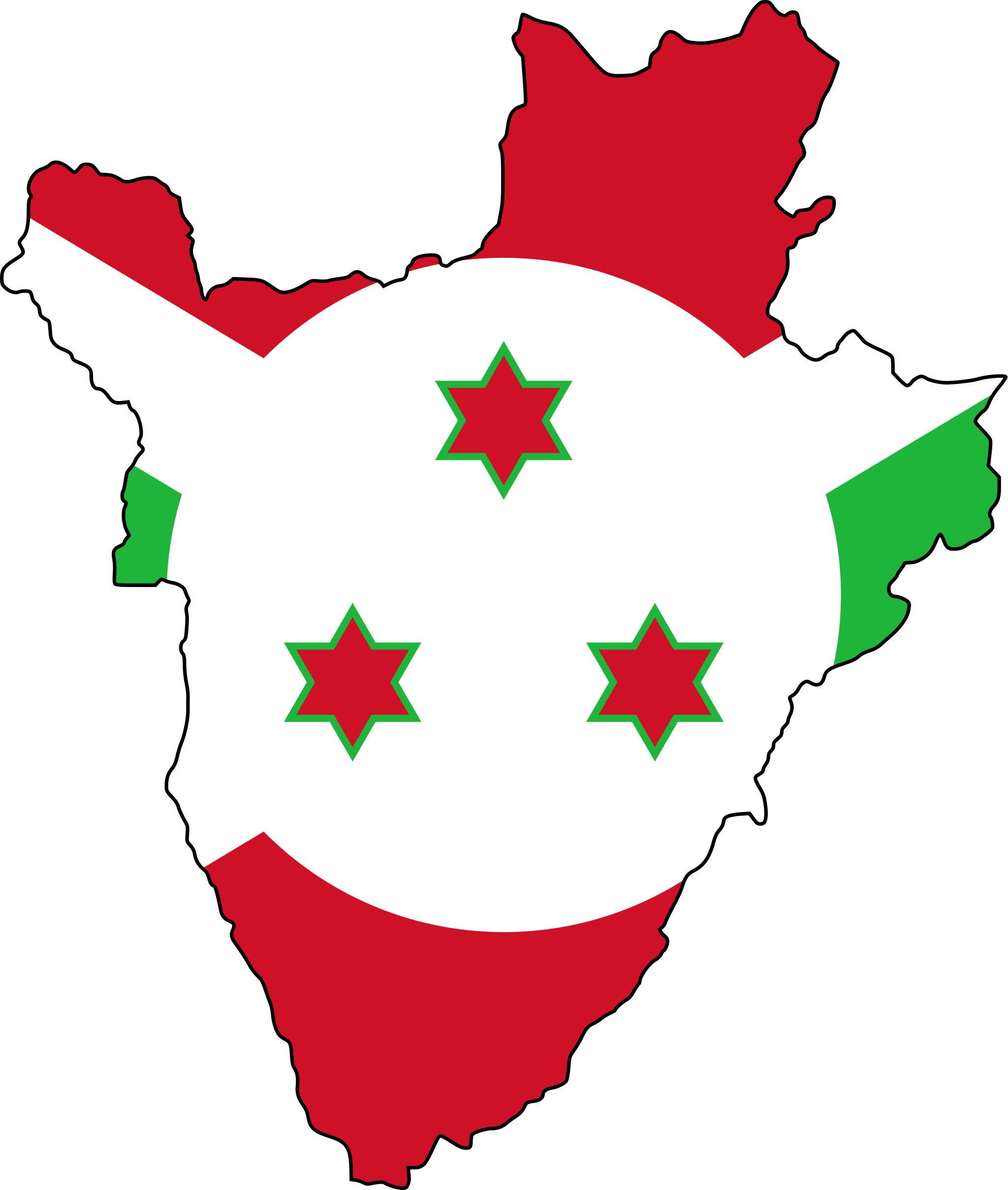 Burundi Flag Map Geogeek Pinterest Flags and Africa