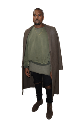Kanye West Standing Celebrities Kanye West Kanye
