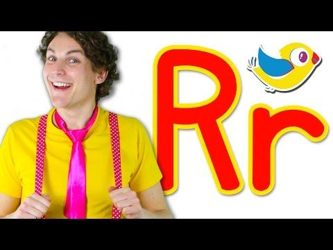 The Letter R Song Learn the Alphabet