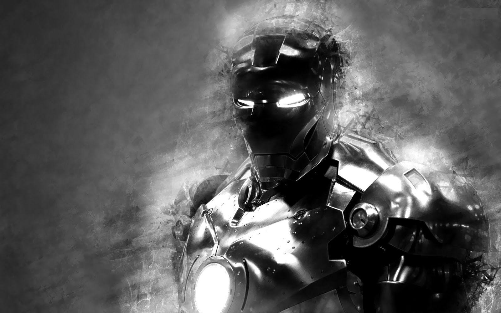Black and white photography iron man 3 black and white photos