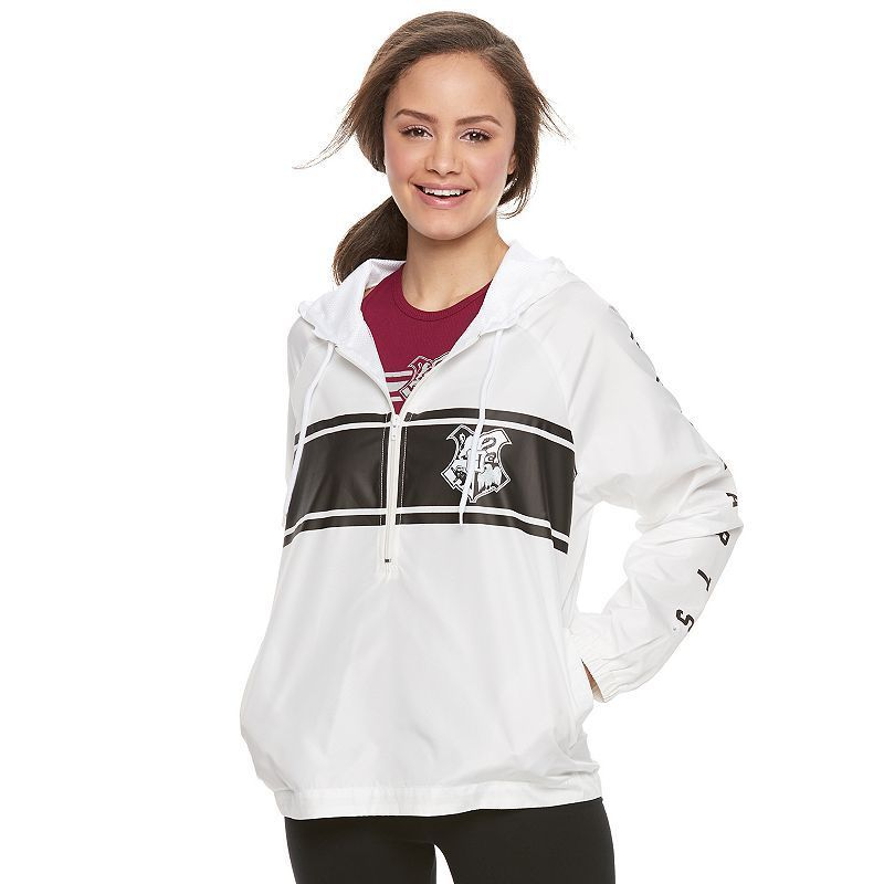 Juniors' Harry Potter Hogwarts Crest Windbreaker Jacket, Teens ...