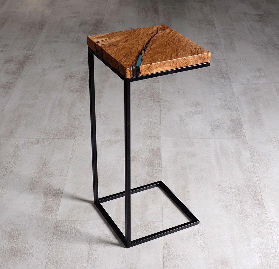 Clarus Side Table Malita Just Wood Meble Industrialne Meble
