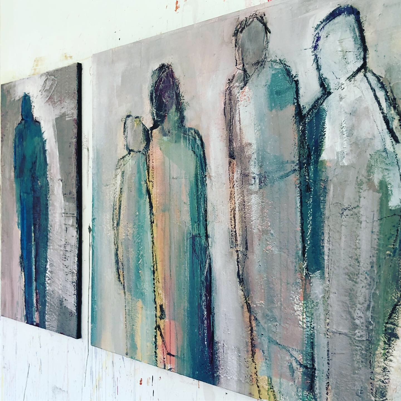 work in progress abstrakte malerei kunst gemalde figurenmalerei gemälde modern art große moderne bilder