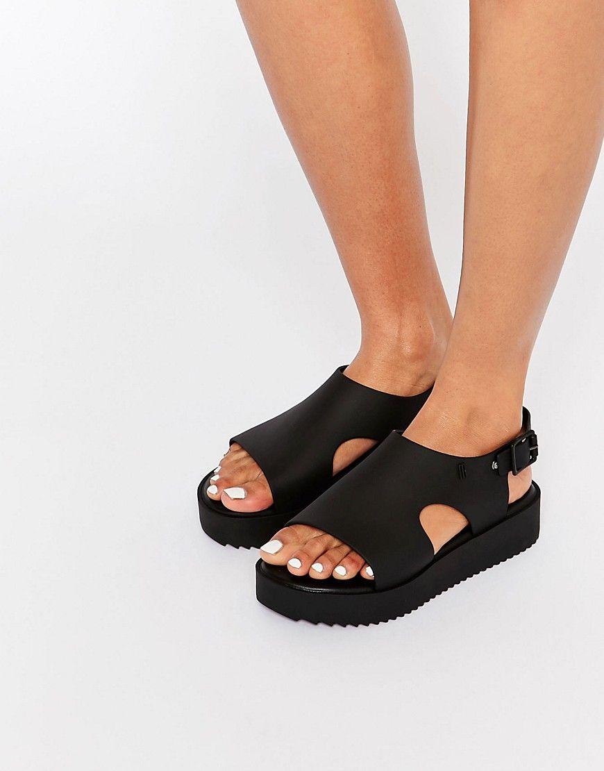 802fbef19c1 Image 1 of Melissa Hotness Sling Flatform Sandals
