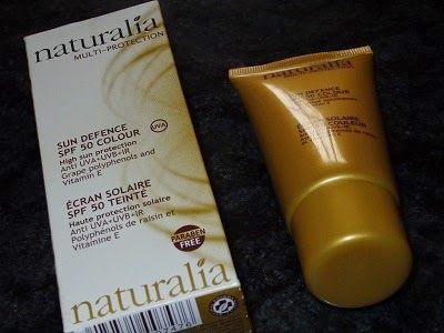 Anyol blog: Naturalia, Crema con Color Multi Protección