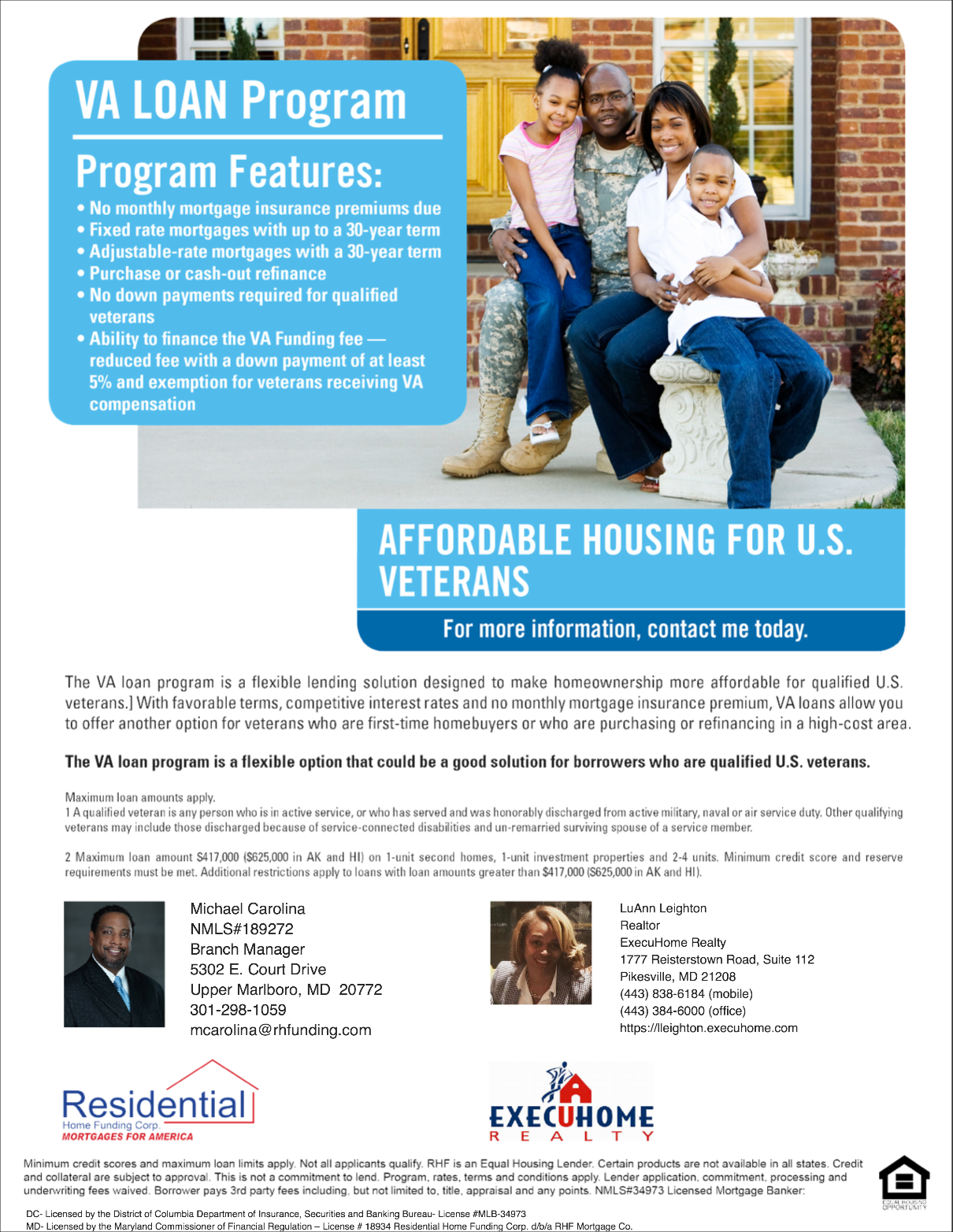 Homes For Heroes Ask Me About My Rebate Offer Luann Leighton
