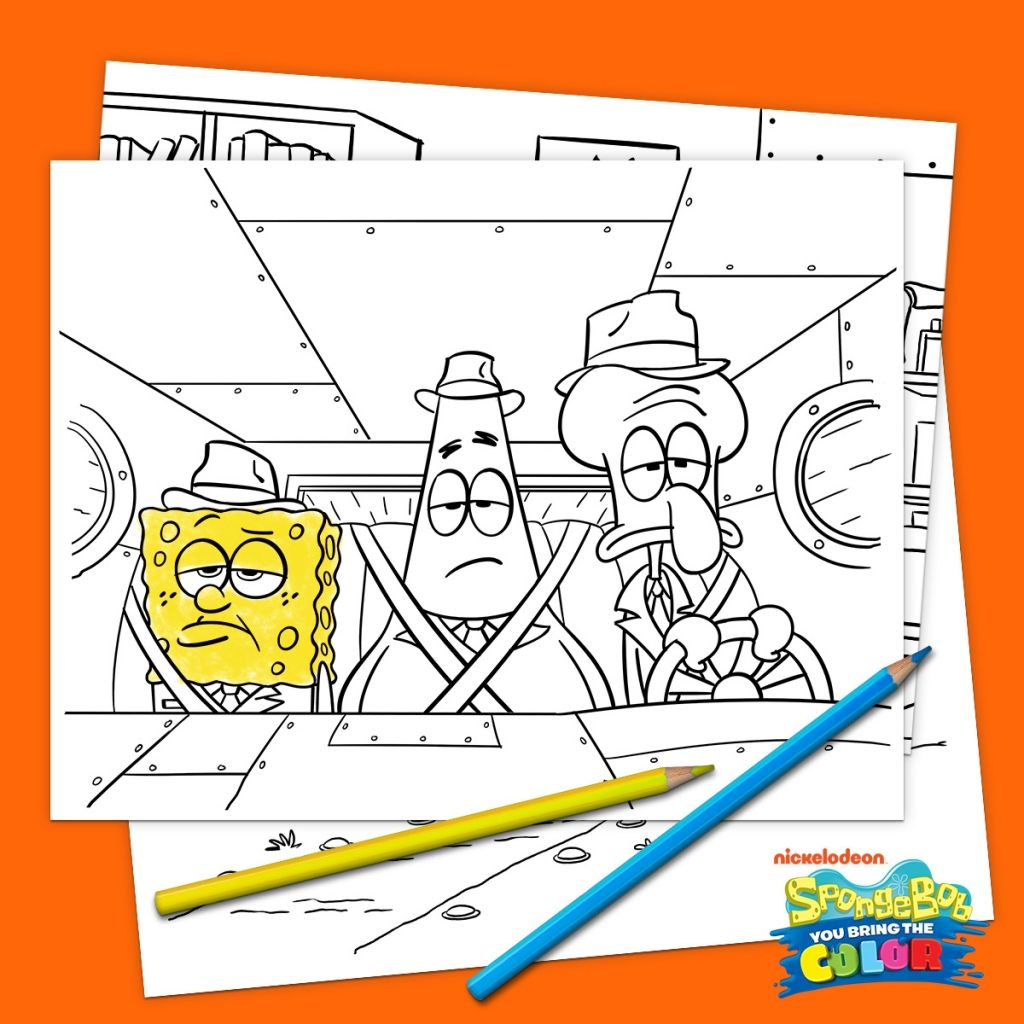 Our Best Spongebob Printables And Activities In