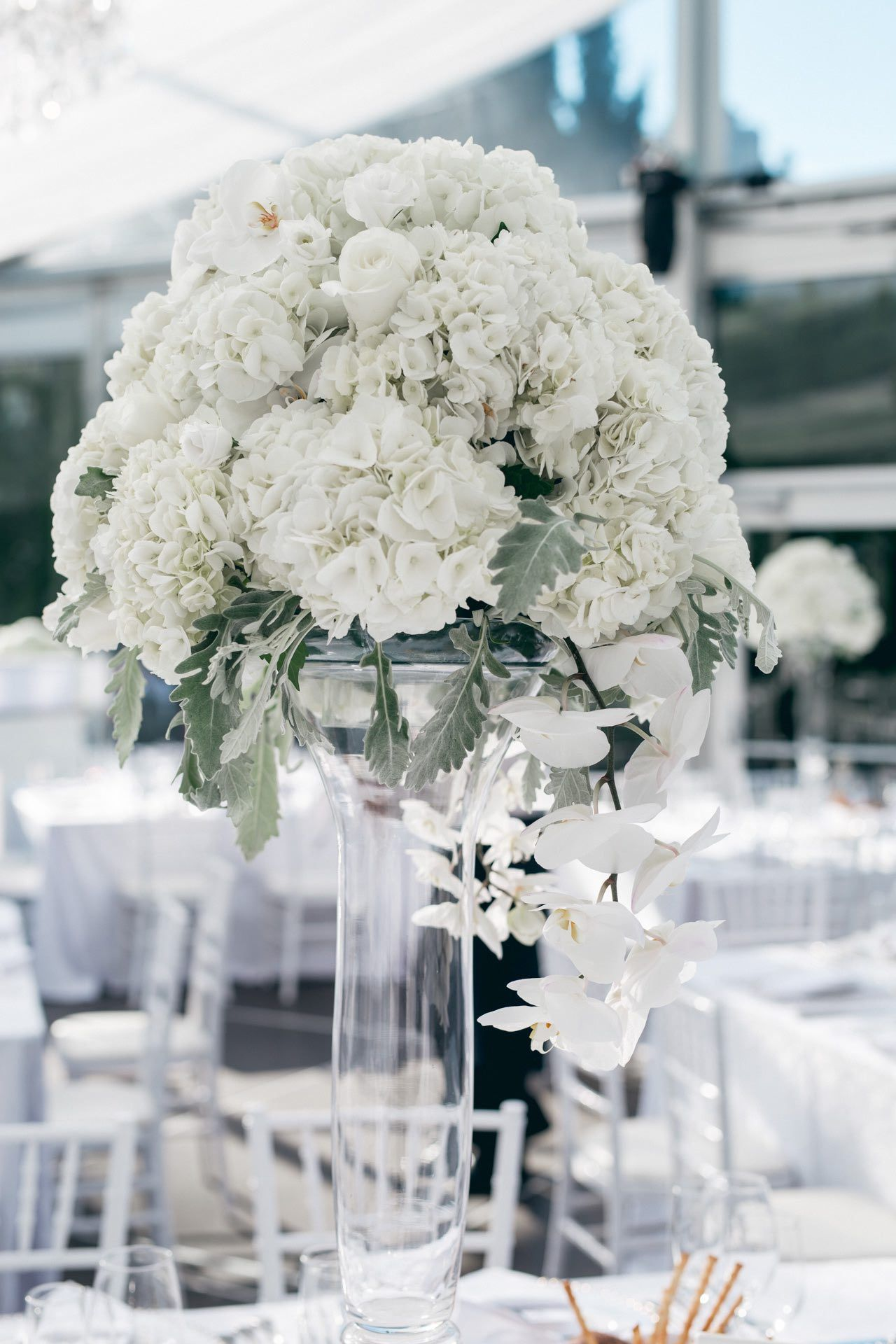 Glamorous White Toronto Wedding from AGI Studio | Wedding ...