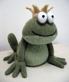 Frog Prince knitting pattern — £2.50 ||| Alan Dart ...