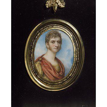 Charles Kemble (Portrait miniature)