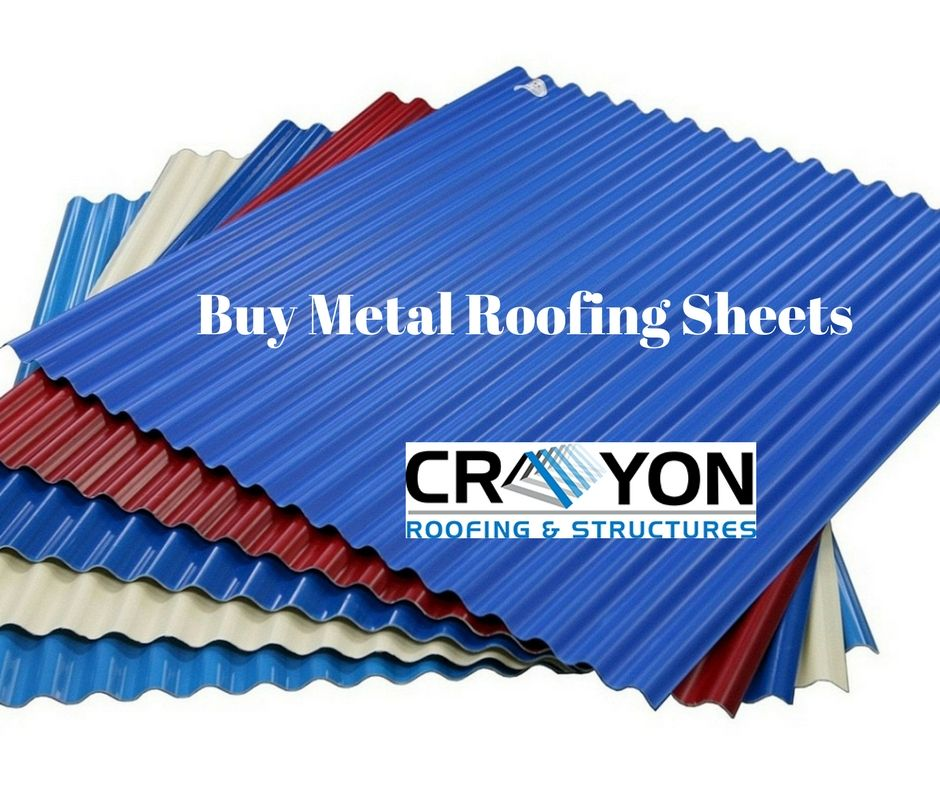 Crayon Roofings Structures Provides The Best Metal Roofing In Chennai It Will Increase The Resale Value Of Your H Roofing Roofing Sheets Sheet Metal Roofing