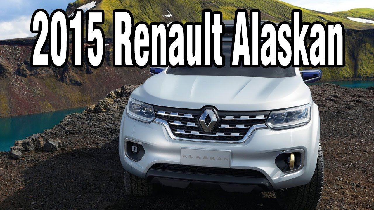 2015 renault alaskan concept highend pickup for business