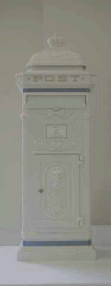 Wedding postbox