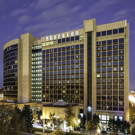 The Birmingham Sheraton Hotel At Uptown Entertainment District In Downtown