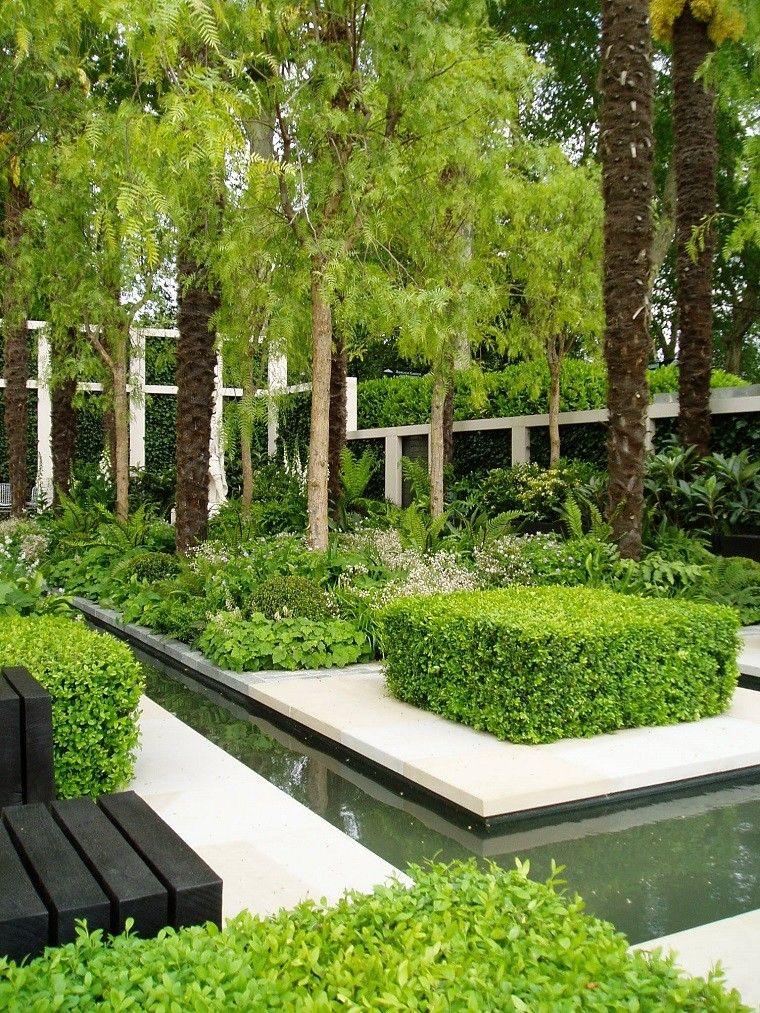 arquitectura y dise o de jardines modernos paisajismo On paisajista moderno jardín
