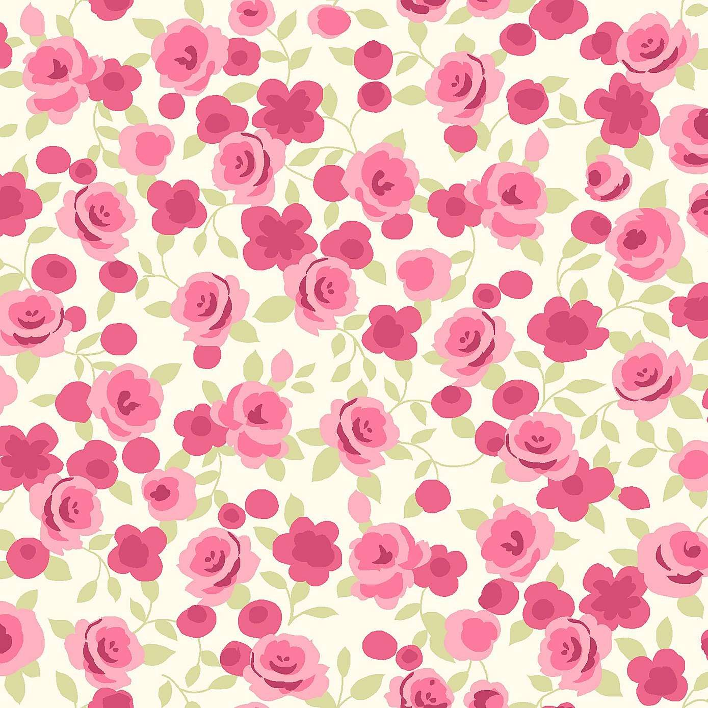 Ditsy Rose Fabric