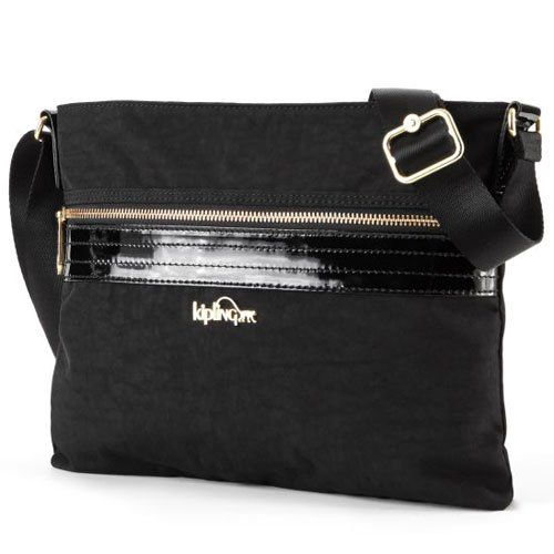 8bcce299e2fd MICHAEL Michael Kors Kempton Small Pocket Crossbody Black - Zappos ...