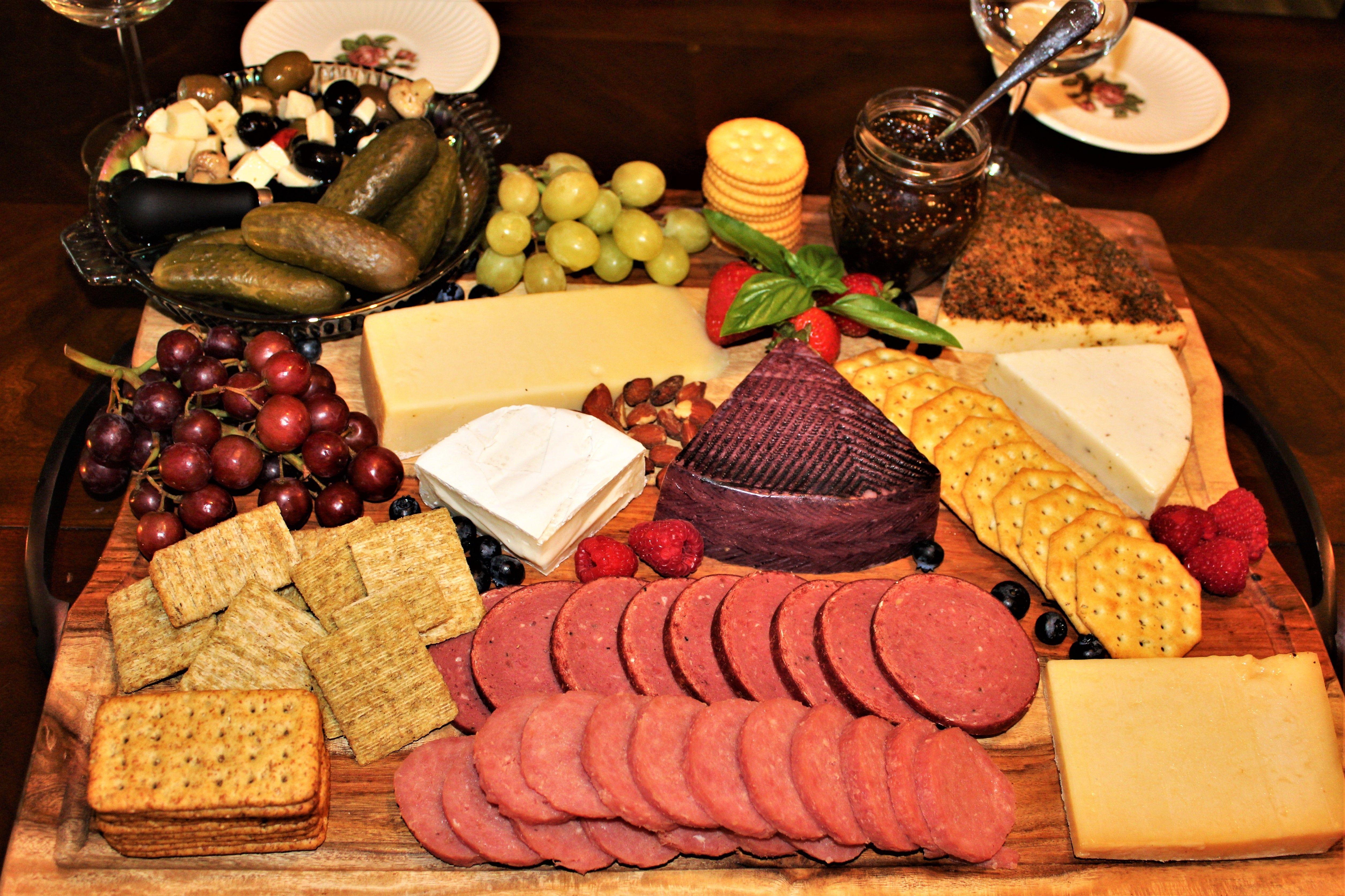 Charcuterie Board Food Cheese Charcuterie Board