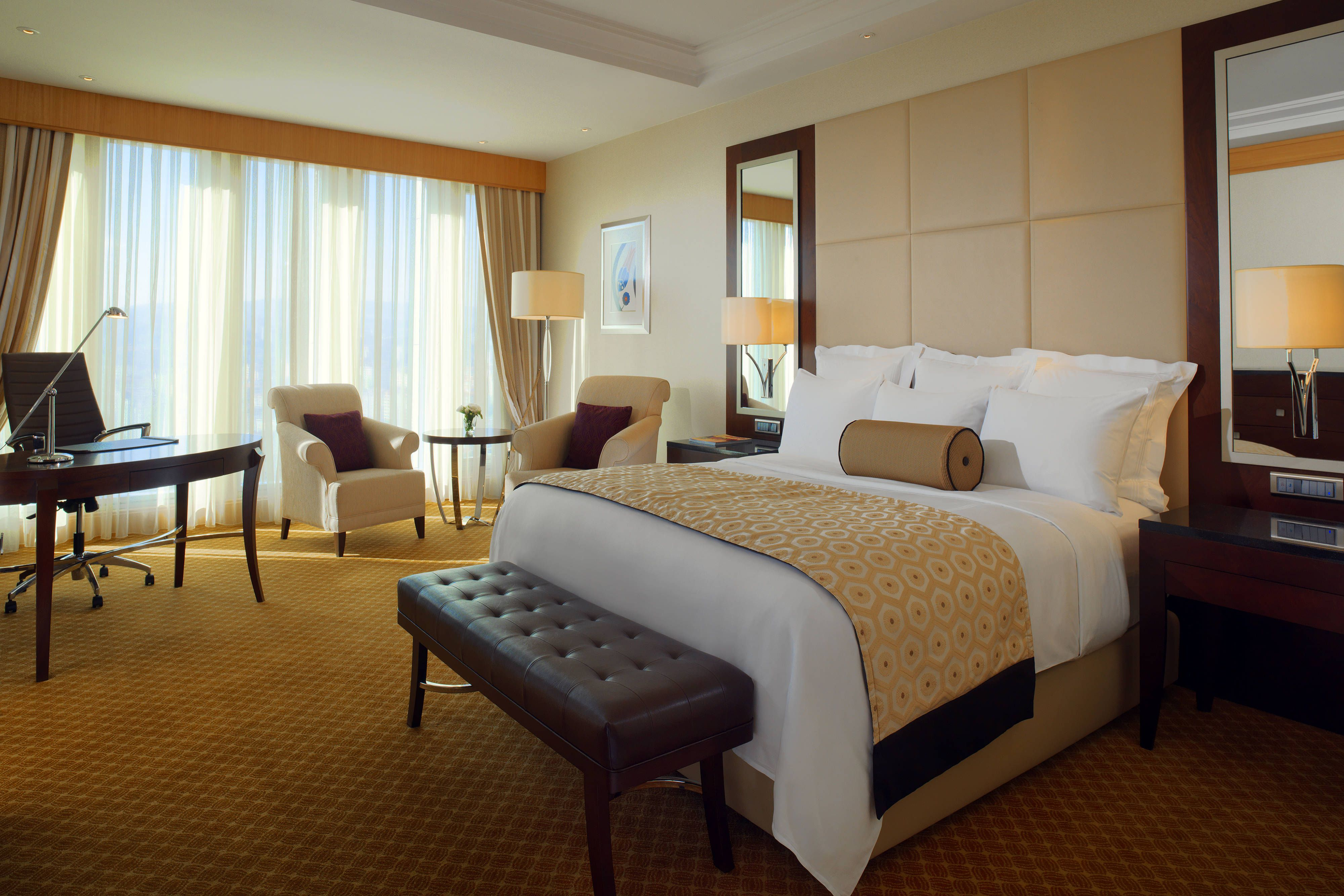 Jw Marriott Hotel Ankara Deluxe King Guest Room #Hotels, #Holidays,