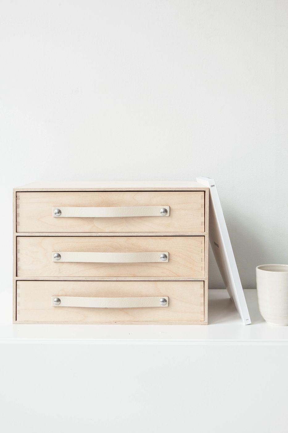 Design Studio Nu - leather handle size 3 - room