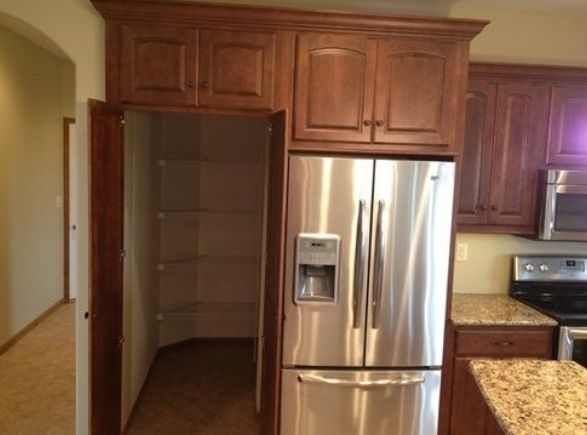 Walk In Pantry Behind Fridge Home Home Kitchens My Dream Home
