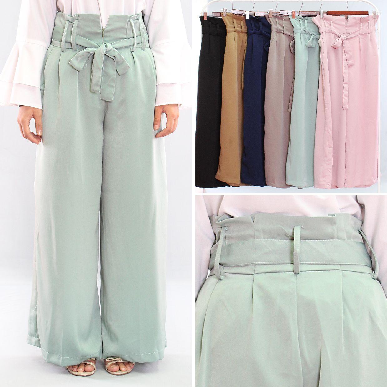 Alicia Celana Kulot Lebar Plisket Pants Cream Daftar Harga High Quality Clothing Long Bcpj18100 Tampil Cantik Dengan Nyaman Variasi Warna Pastel Desain Unik Di Bagian Pinggang Dan Dilengkapi