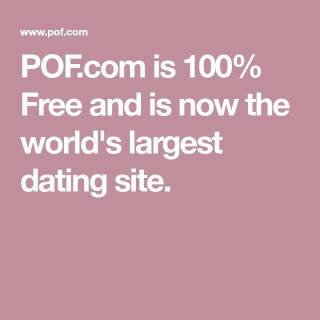 Kostenlose dating-sites in der welt
