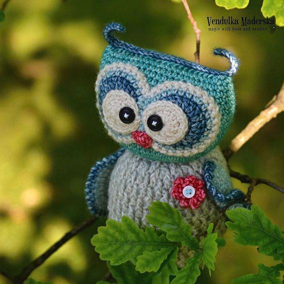 Crochet pattern - Sweet owl by VendulkaM - amigurumi/ crochet toy ...