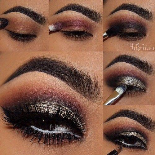 #makeup #beauty #smokey #night