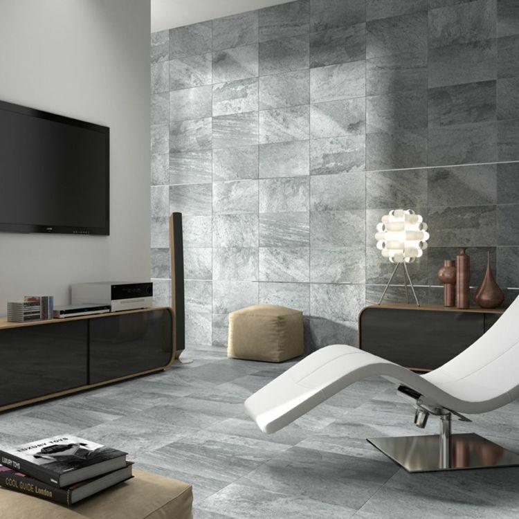Graue Fliesen Für Wand Und Boden U2013 55 Moderne Wohnideen #boden #fliesen  #graue