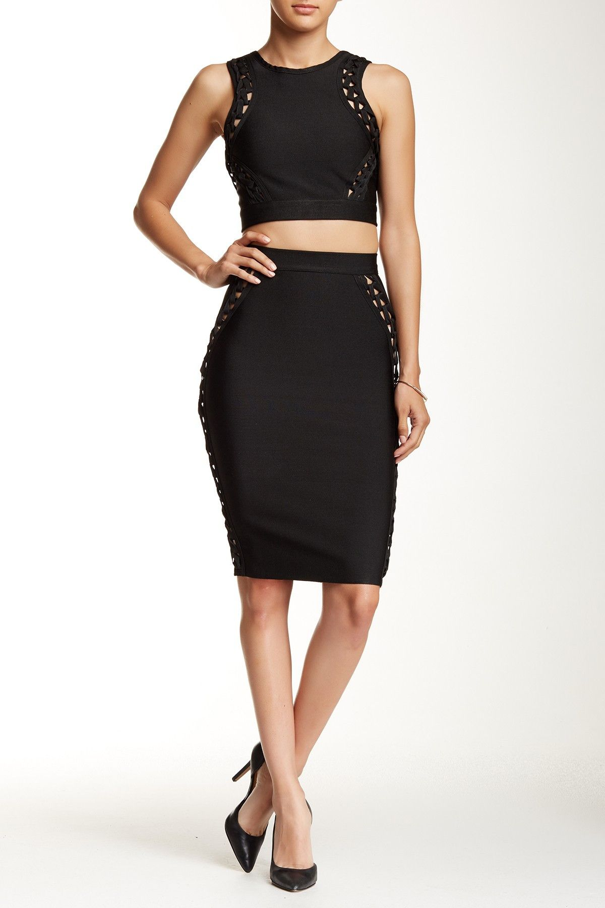Wow Couture 2 Piece Braided Bodycon Dress Set At Nordstrom Rack Free Shipping On Orders Over 100 Set Dress Bodycon Dress Wow Couture [ 1800 x 1200 Pixel ]