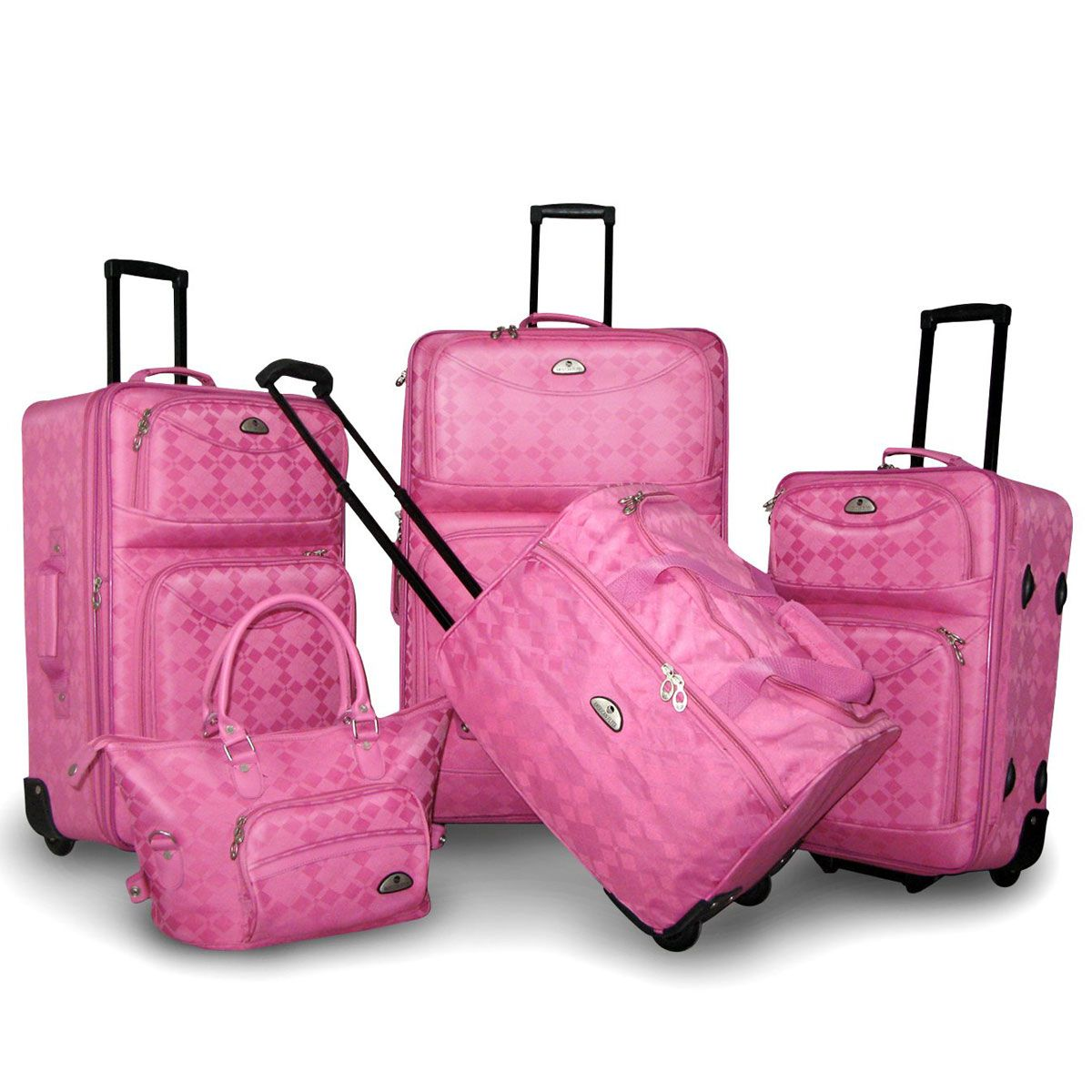 Pink Luggage Sets http://www.buynowsignal.com/garment-bag/pink ...