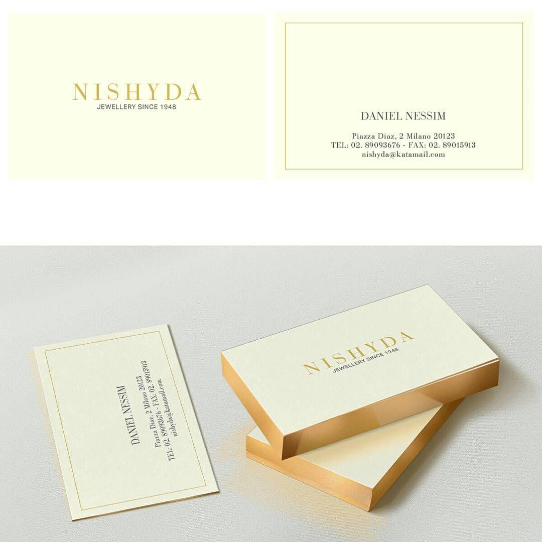 """""""Mi piace"""": 37, commenti: 3 - gosmartpress.com (@gosmartpress) su Instagram: """"Business card @Nishyda jewellery #gosmartpress #brand #brandingdesign #bigliettodavisita…"""""""