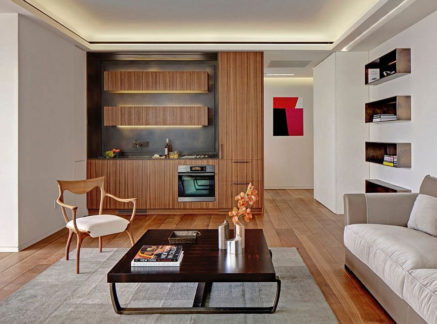 Sleek kitchen design makes smart use of space I nterior