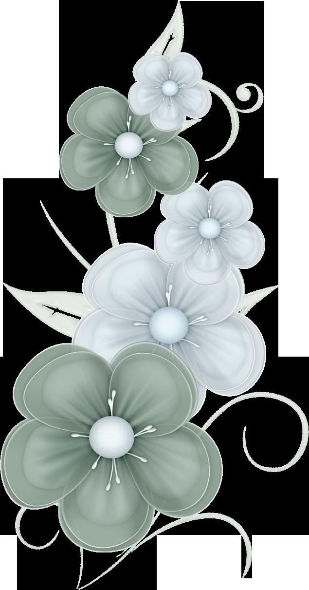 Green Flowers Png By Pvs By Pixievamp Stock On Deviantart Folk Art Flowers Flower Phone Wallpaper Flowery Wallpaper