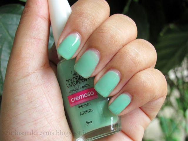 Colorama Nail Polish Absinto | Nail Inspiration | Pinterest