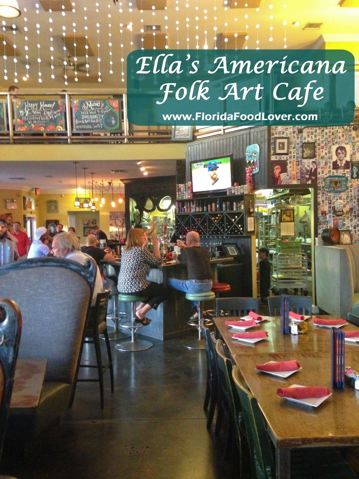 Ellas americana folk art cafe tampa fl folk art