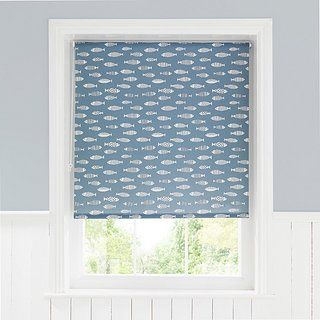 Blue Fish Daylight Moisture Resistant Roller Blind In 2019