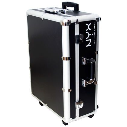 "Vanity Suitcase With Lights Xlarge Makeup Artist Train Casepops Up Into An ""on The Go"