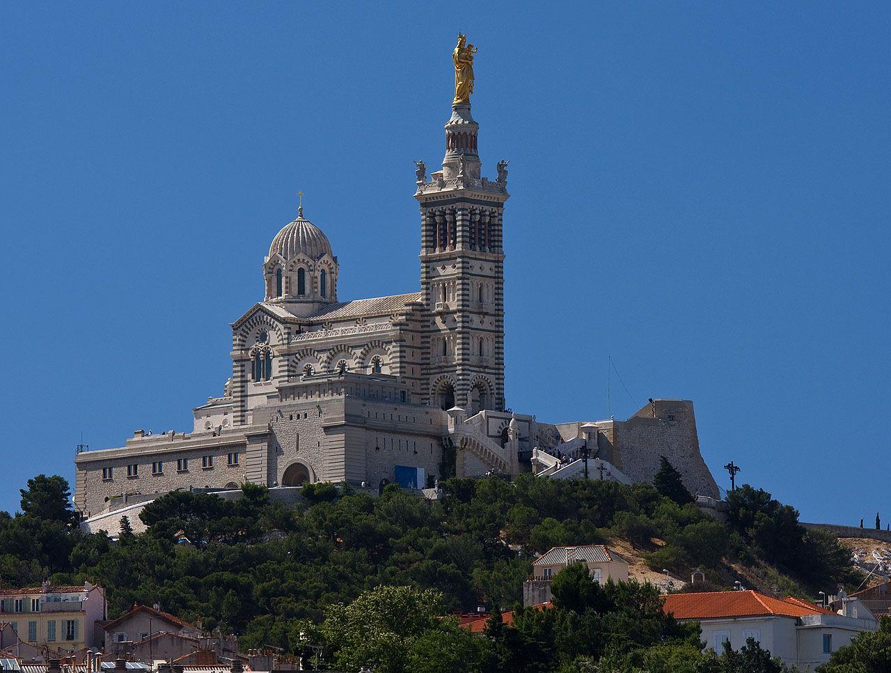 marseille france   Notre-Dame de la Garde in Marseille