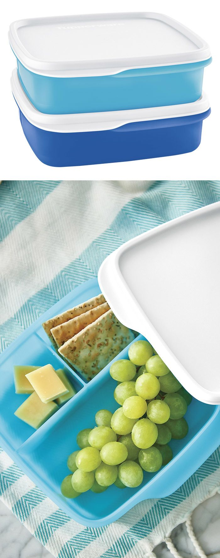 LunchIt™ Containers. Simple snacking at home or on the go