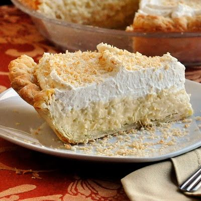 The Absolute Best Coconut Cream Pie - Rock Recipes -The Best Food & Photos from my St. John's, Newfoundland Kitchen.