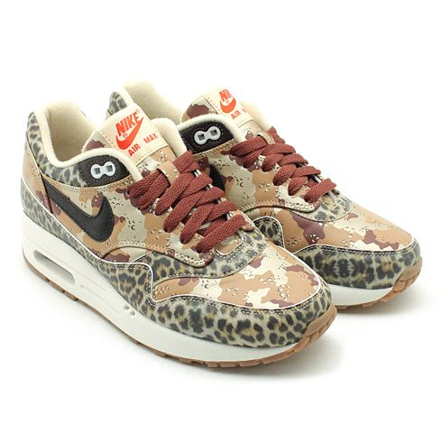 new products 80113 6b323 Nike Air Max 1  Atmos  Animal Camo Pack. That strange moment when something  is cute and ugly at the same time  Confused.