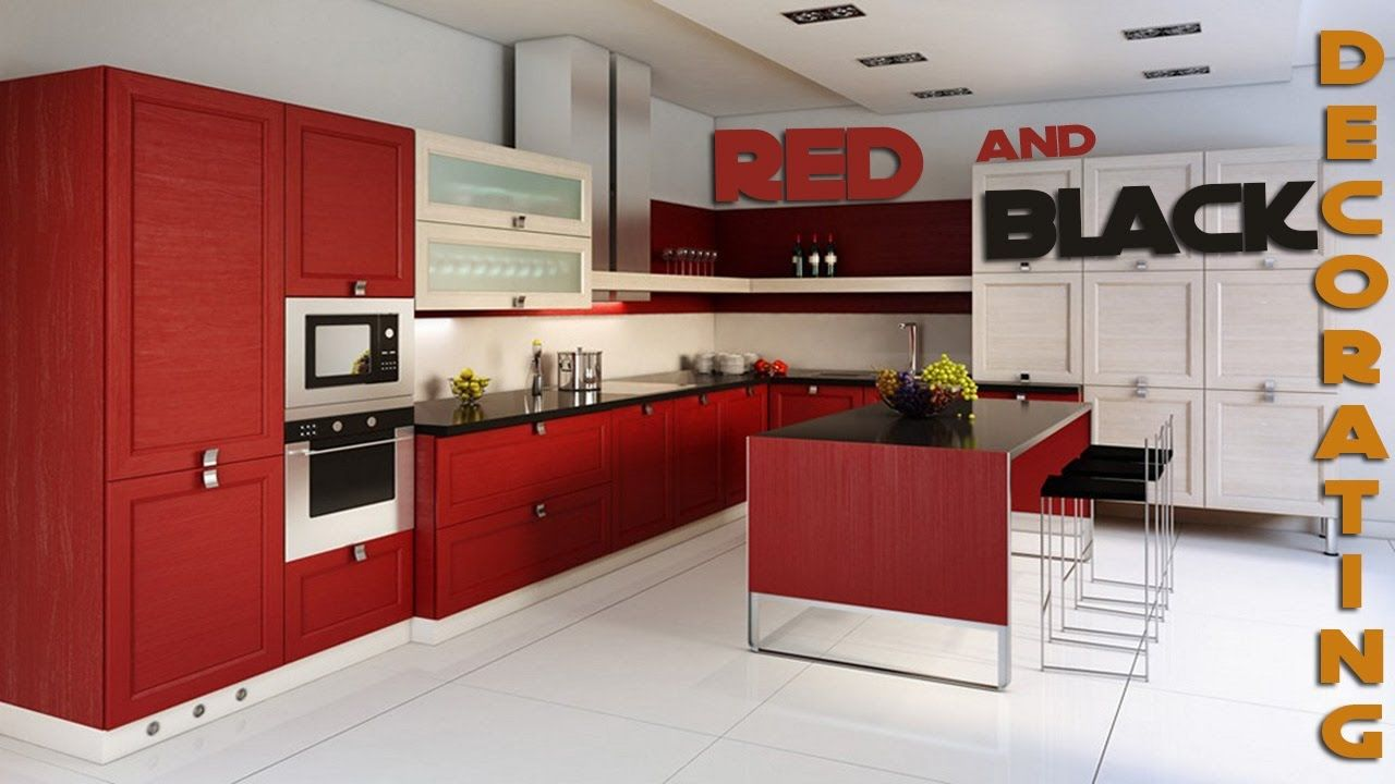 Red And Black Kitchen Decor Thank You For Watching Like Share Subscribe Https