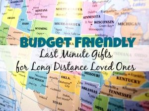 Budget Friendly Last Minute Gifts For Long Distance Loved Ones