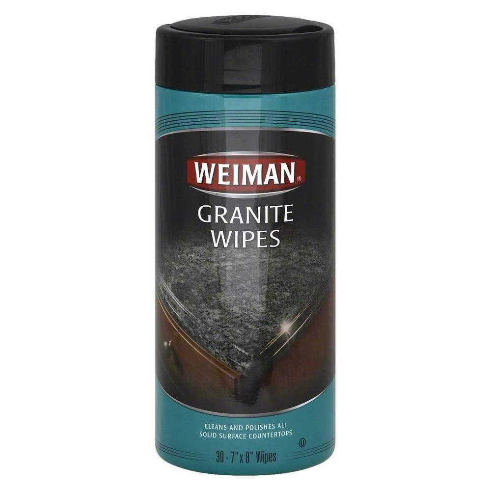 Details About Weiman Granite Surface Wipes 30 Count Luxury Surface