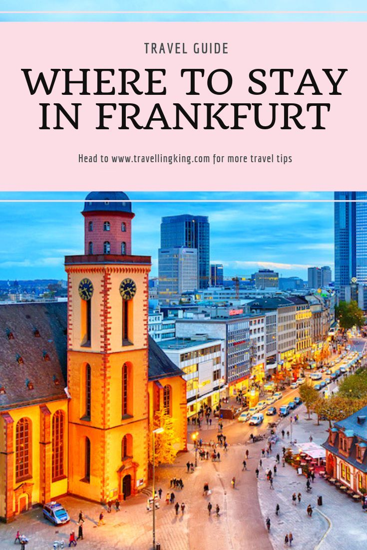 Frankfurt Germany Travel Adventures